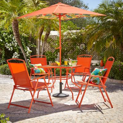 Miami 6 Piece Patio Set - Botanical