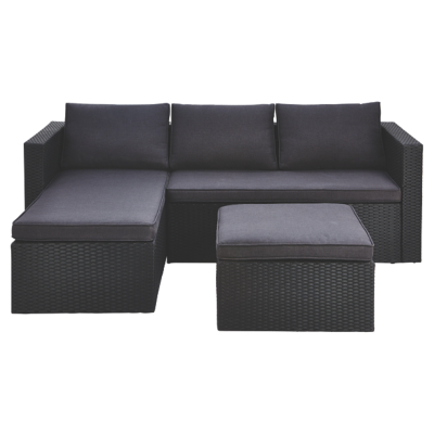 outdoor patio furniture orlando Orlando Chaise and Footstool | Home & Garden | George at ASDA