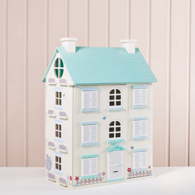 Wooden Light Up Dolls House