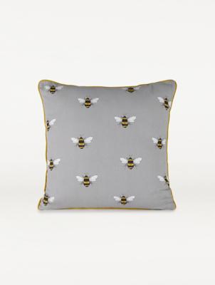 grey bumblebee cushion
