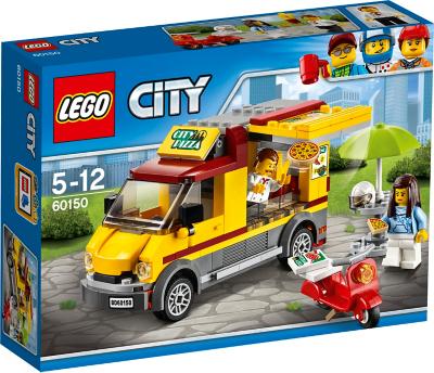 LEGO City Pizza Van 60150 Kids George At ASDA