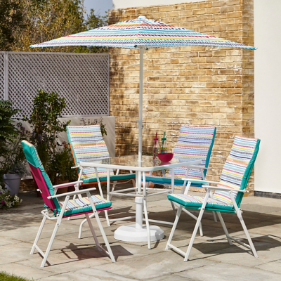 Miami 6 Piece Patio Set With Cushions