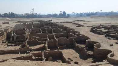 صورة إكتشاف المدينة الذهبية المفقودة في الأقصر المصرية..