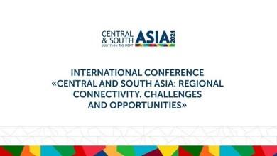 """صورة إنعقاد المؤتمر الدولي : """"التواصل في وسط وجنوب آسيا : التحديات والفرص"""" في طشقند.."""