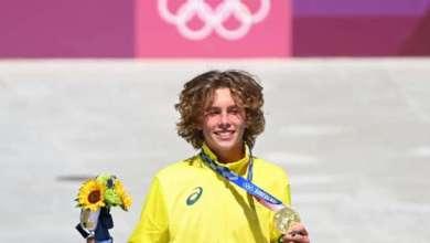 صورة الأسترالي بالمر يتوج بذهبية التزلج على الألواح في أولمبياد طوكيو…