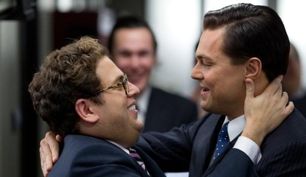 Jonah Hill,  Danny & Leonardo DiCaprio
