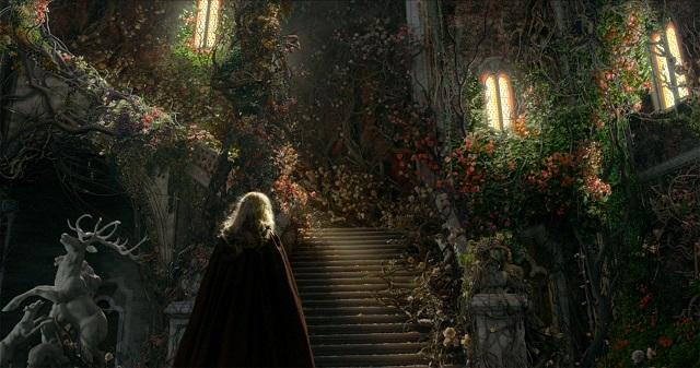 Impresionantes escenarios es la mayor virtud de la película.