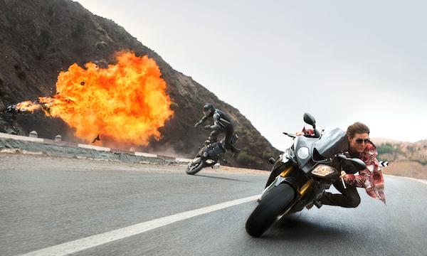 Persecución en moto