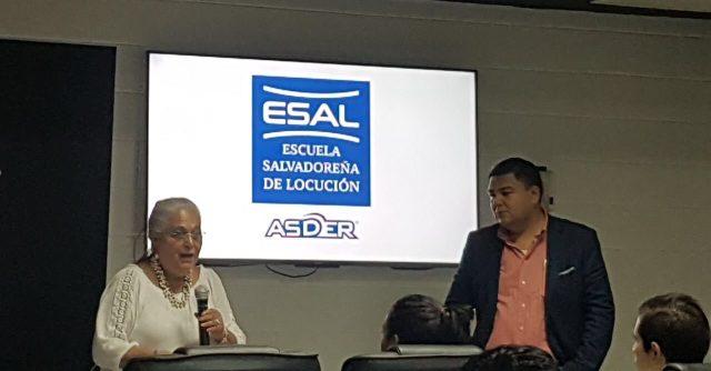 Inicia Diplomado y Certificación de Locutores en la Escuela Salvadoreña de Locutores ASDER (ESAL)