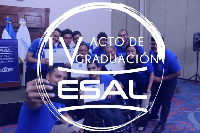 «Graduación de la Cuarta Generación de La Escuela de Locución ESAL»
