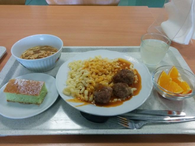 Almoço na escola