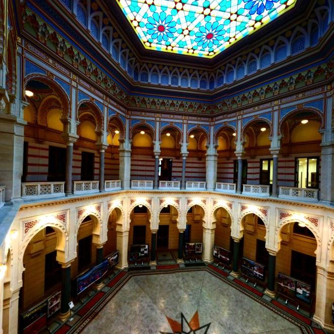 Interior da Biblioteca Nacional