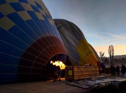 balão capadócia preparação 2