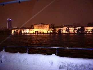 palacio domabahce istambul vista do bosforo