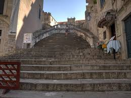escadaria barroca dubrovnik