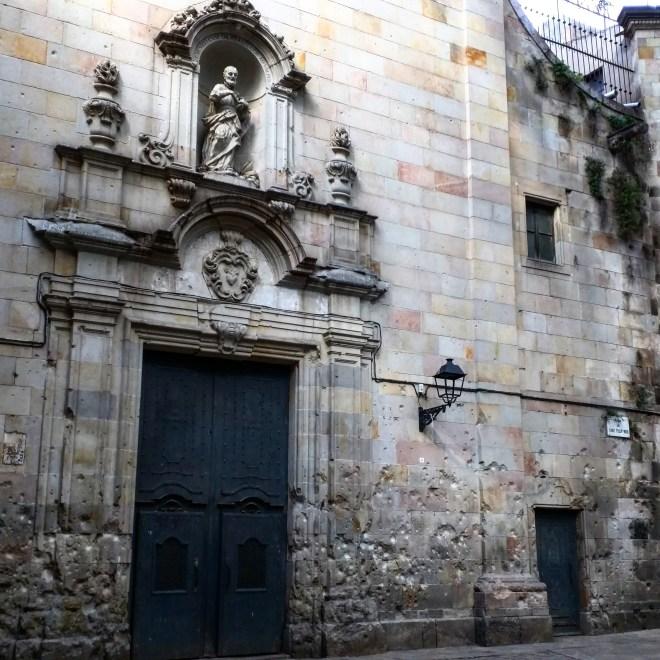 San Felipe Neri bairro gótico Barcelona
