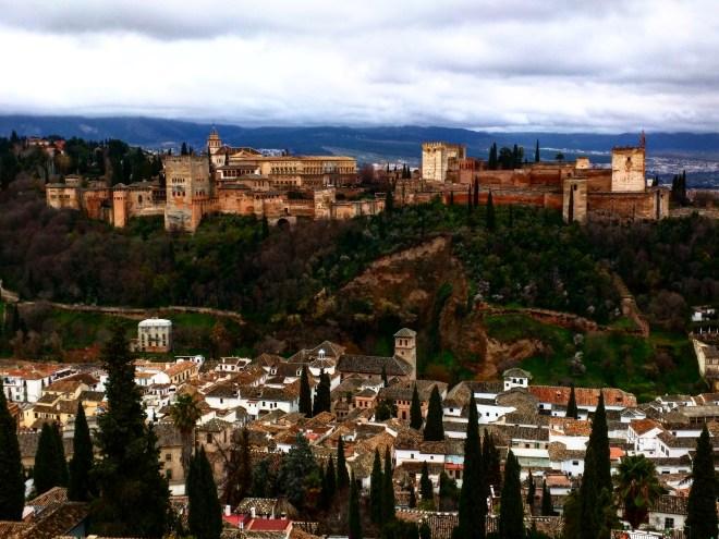 Alhambra Mirador de San Nicolas Granada