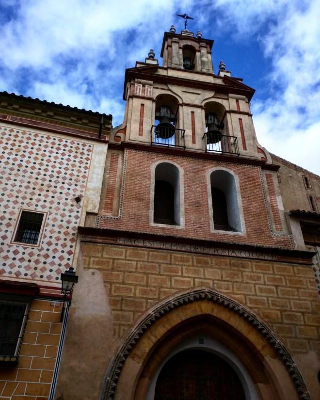 Bairro Judeu Sevilha sinagoga-mesquita-igreja