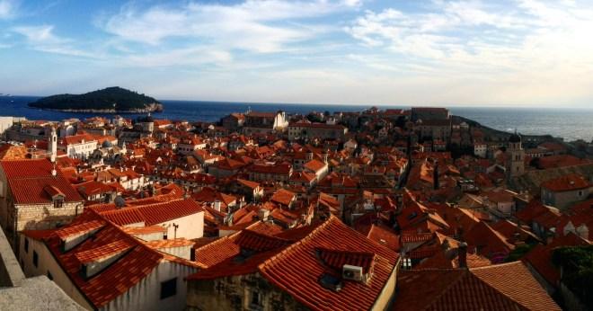 Vista muros Dubrovnik 6