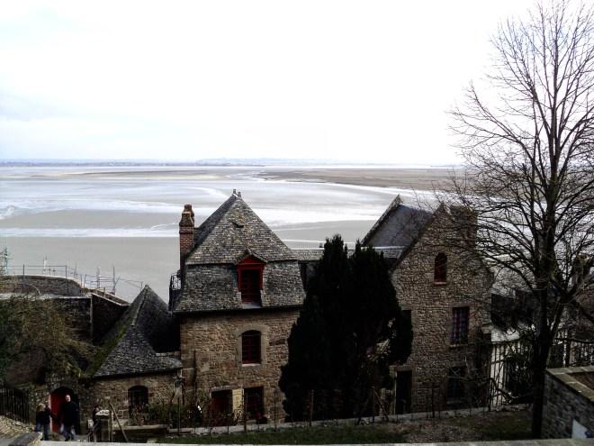 Mont Saint Michel vista ao redor