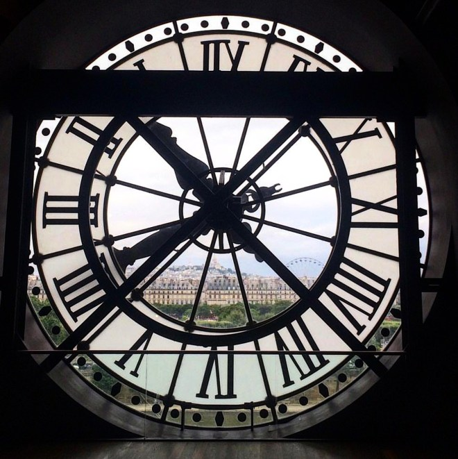 Museu d'Orsay Paris Relógio 1