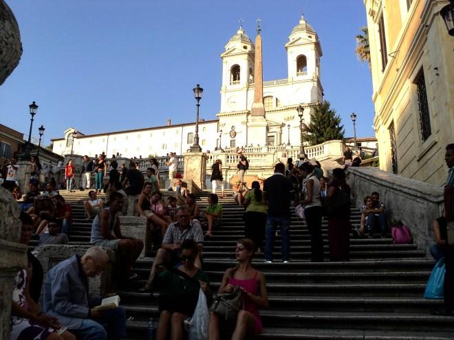 Piazza di Spagna praças de Roma 3