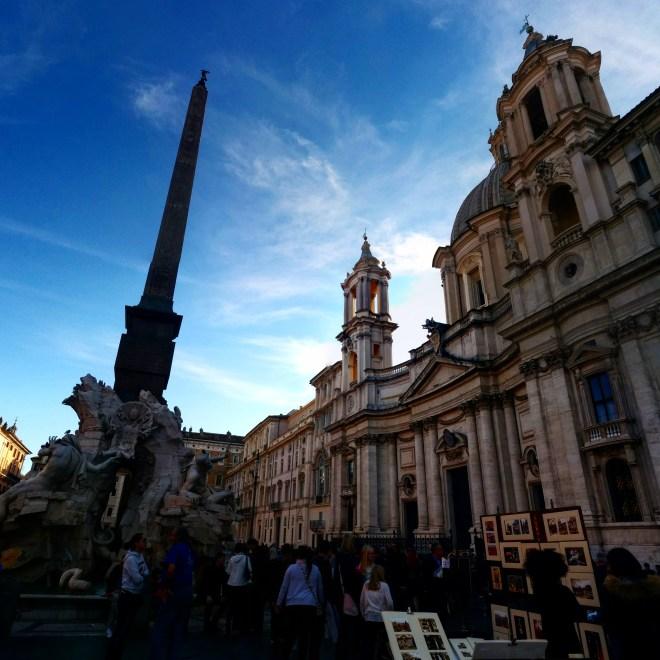 Piazza Navona praças de Roma 1