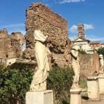 Casa das vestais forum romano