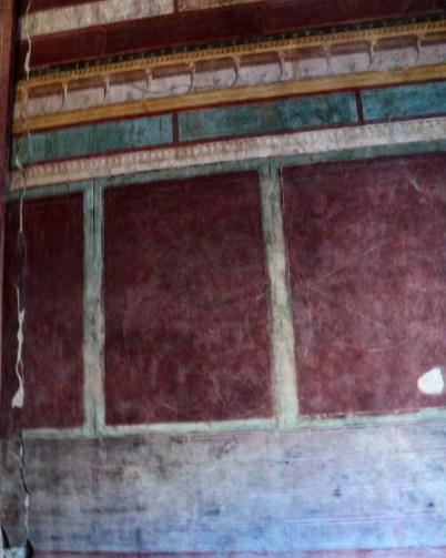 Casa de Augusto afresco 1