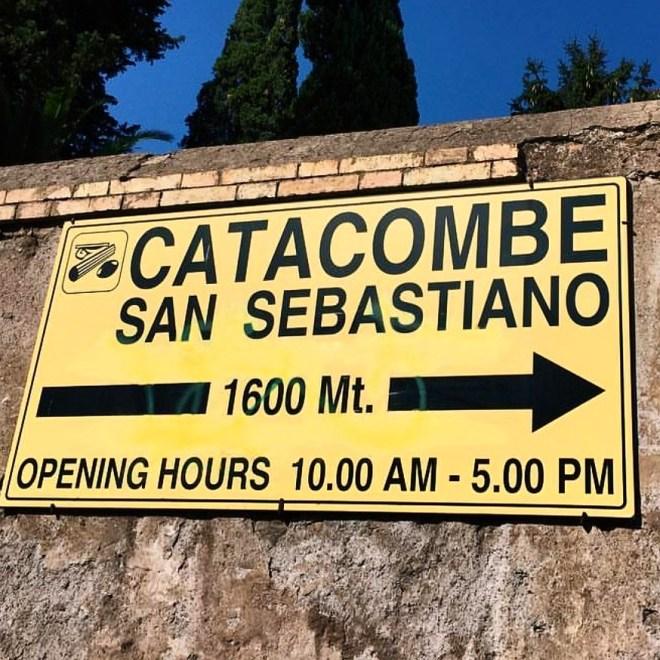 Catacumbas de San Sebastiano Roma