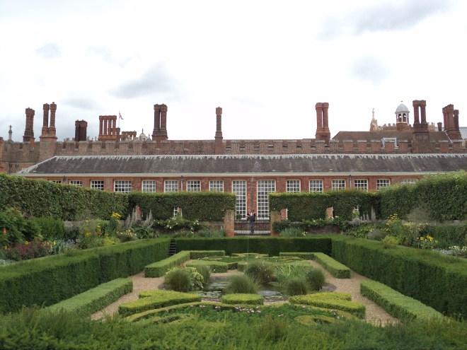 Hampton Court Palace Jardim 21