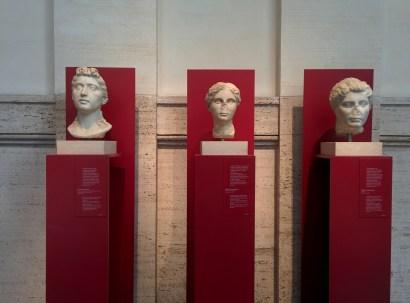 Palazzo Massimo alle Terme bustos