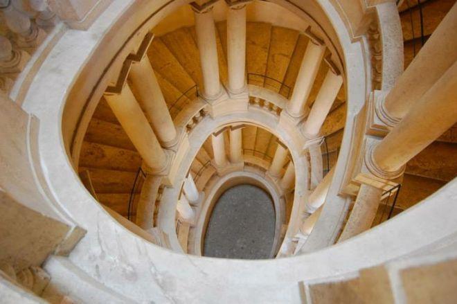 escadaria borromeo galleria barberini