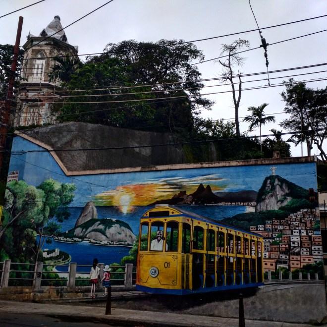 Grafite bonde santa teresa rio