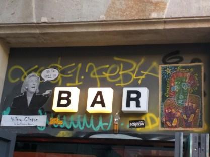 Arte de rua Raval Barcelona 5