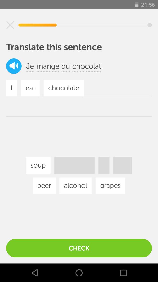 Duolingo apps viajar