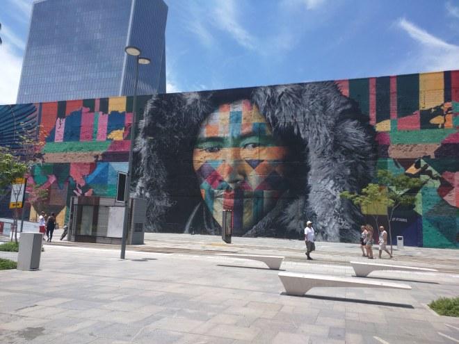 Grafites perto da Praça Mauá Rio 6