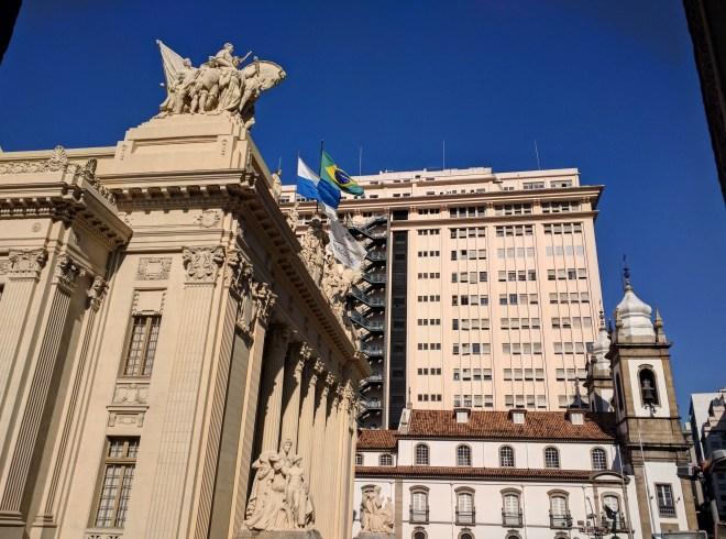 Palacio Tiradentes com Igreja de São Jose