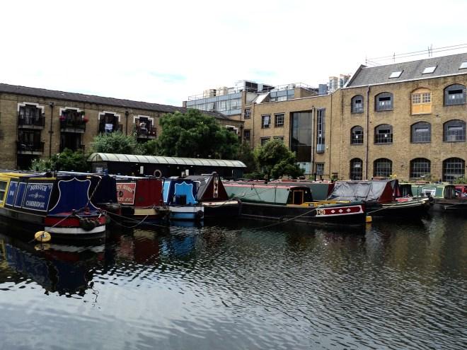 Regent's Canal casas barco