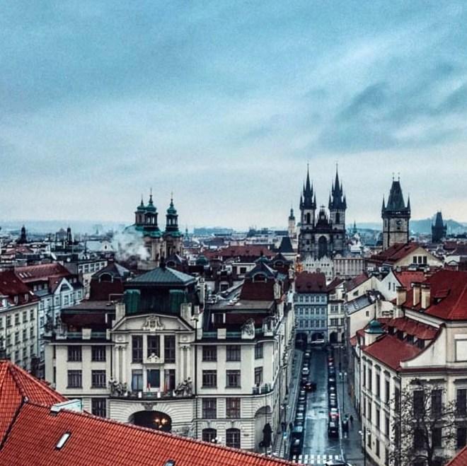 Klementinum vista de Praga 2