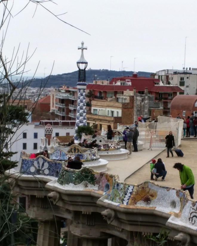 Parque Guell Gaudì Barcelona8