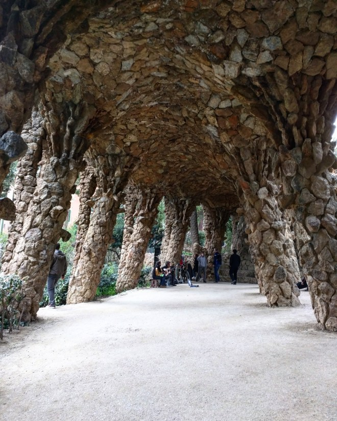 Parque Guell Gaudì Barcelona9