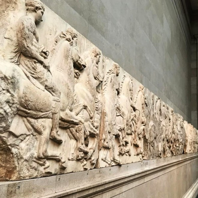 Museu britanico londres marmores elgin