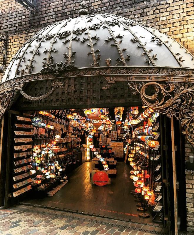 Camden Market lanternas 1