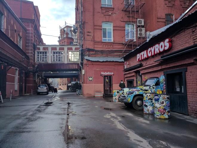 Fabricas de Moscou centros culturais outubro vermelho 2