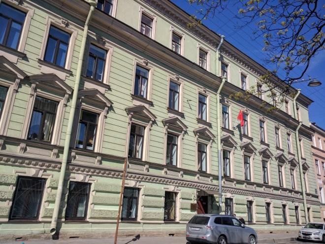 Petersburgo Dostoievski crime e castigo delegacia de policia