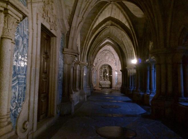 Portugal Porto claustro catedral da sé