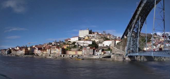 Portugal Porto vista do cais de aia 5