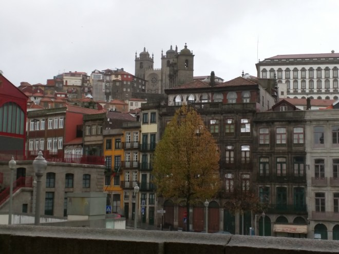 Portugal Porto vista do palacio da bolsa