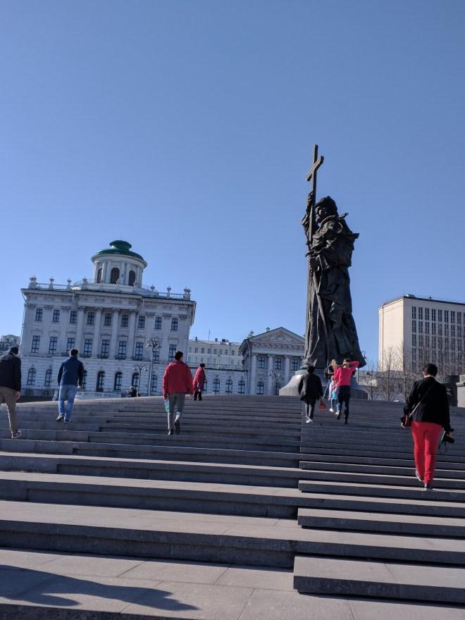 Kremlin Moscou estatua de ivan, o grande